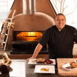 Chef Ray Nranjo Indian Pueblo Kitchen by Horno oven